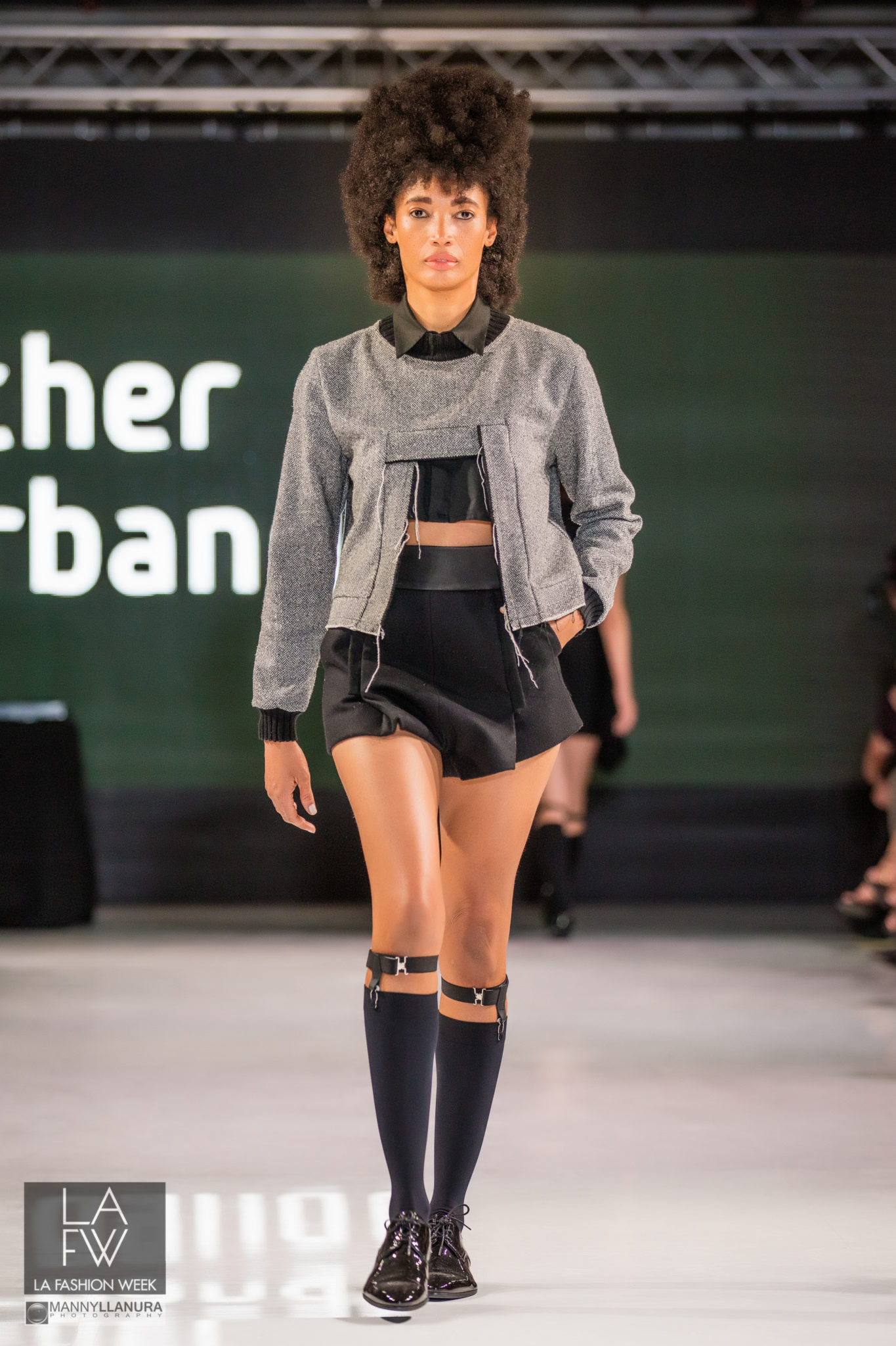 Esther Perbandt Runway LAFW LA Fashion Week 2016