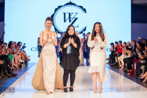 Cindy Wei Zhang, designer at Los Angeles Fashion Week SS17