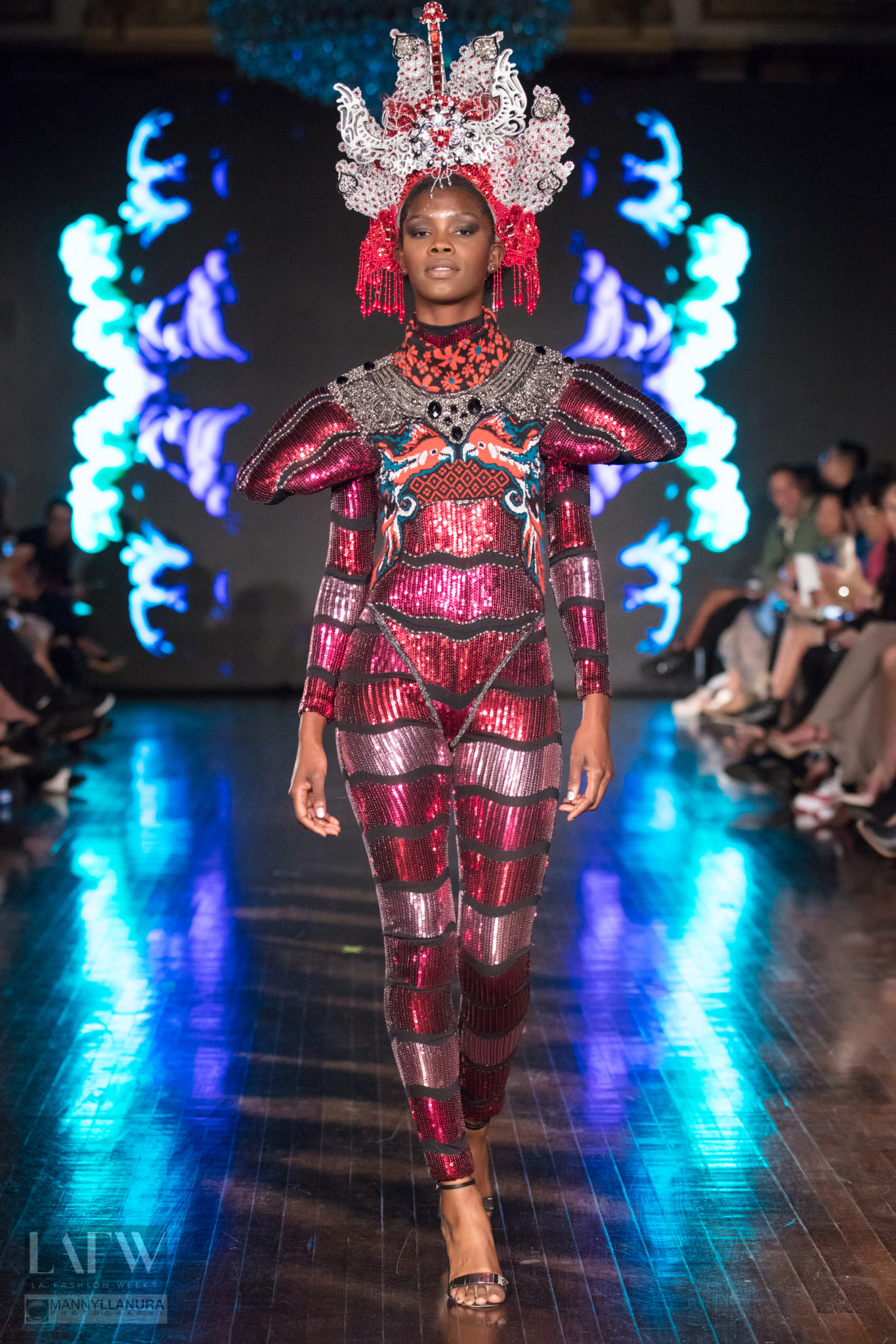 George Styler Runway at LAFW SS18 Los Angeles Fashion Week