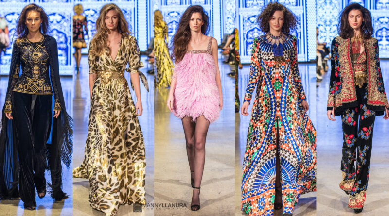 Naeem Khan Los Angeles Fashion Week Runway at Petersen Automotive Museum FW19
